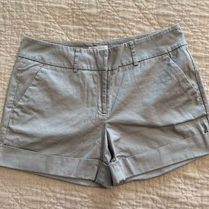 NWOT Gray Sateen Shorts New York & Company